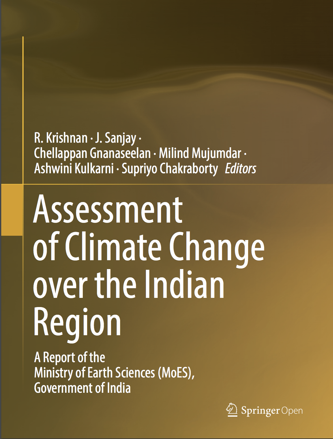 Front Cover Assessment of Climate Change over the Indian Region
